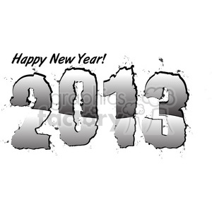 2013 Happy New Years 003 clipart. Royalty-free image # 385969