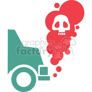 car pollution clipart. Royalty-free image # 386131