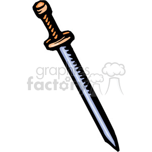 cartoon sword clipart. Commercial use image # 173700