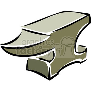 blacksmith anvil clipart. Royalty-free image # 386436
