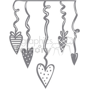 Valentines party clipart. Royalty-free image # 386645
