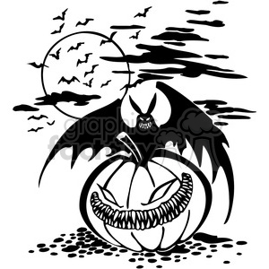 Halloween clipart illustrations 011