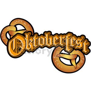 Oktoberfest Pretzel clipart. Royalty-free image # 387657