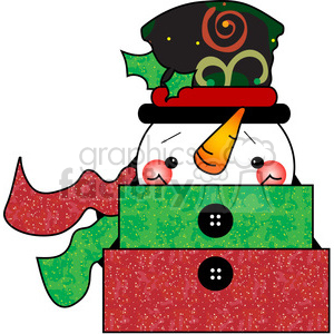 Christmas Gift 02 clipart. Royalty-free image # 387693