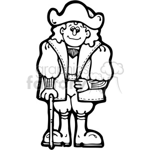 Christopher Columbus clipart. Royalty-free image # 387742