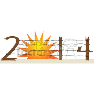 2014 sunset clipart clipart. Royalty-free image # 387971