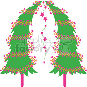 Christmas Tree 08 clipart clipart. Commercial use image # 387981
