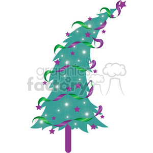 Christmas Tree 06 clipart clipart. Commercial use image # 388010