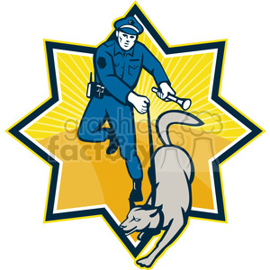 police+dog dog law police officer K9 badge
