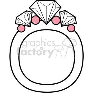 letter o diamond ring