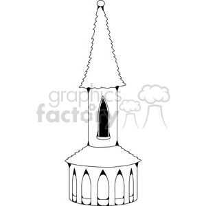 Castle Structure 01 clipart. Royalty-free image # 388587