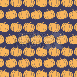 6648 Royalty Free Clip Art Pumpkin Background Seamless Pattern In Blue clipart. Commercial use image # 389726