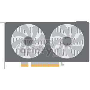 video card currency mining clipart. Royalty-free image # 390055