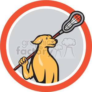 cartoon character mascot people funny lacrosse sports dog dogs