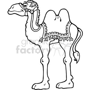 Camel Standing clipart. Commercial use image # 391548