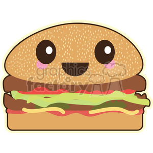 Burger clipart. Commercial use image # 393470