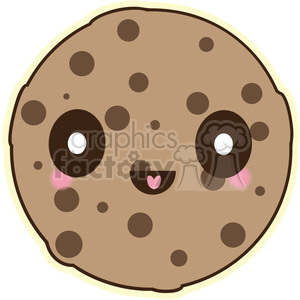 Cookie vector clip art image clipart. Royalty-free image # 393785