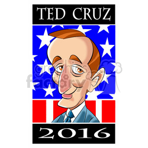 ted cruz 2016 clipart. Royalty-free image # 394302