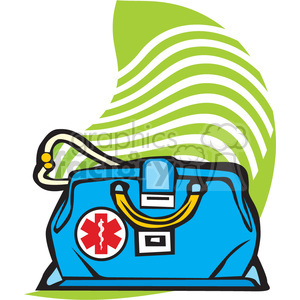doctor bag clipart. Commercial use image # 165712