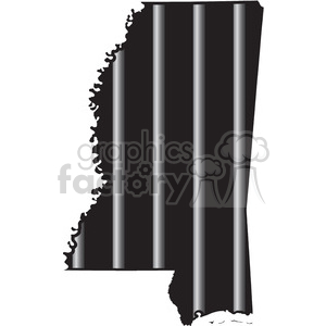 royalty free prison mississippi jail bars tattoo design 394798 vector clip art image eps svg. Black Bedroom Furniture Sets. Home Design Ideas