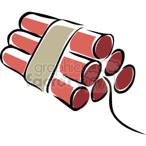 sticks of dynamite clipart. Royalty-free image # 173718