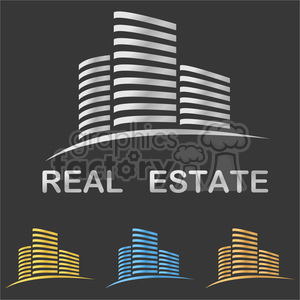real logo silver building housing housing logo real estate symbols business vector sign property symbol estate night night building element technology real estate building logo design office building night house style silhouette financial office logo street corporate concept urban template graphic shape abstract insignia emblem building icon modern creative icon real estate sign metallic gold city blue company city logo real estate logo office real estate concept