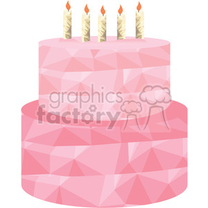 Birthday Cake clipart. Royalty-free image # 397967