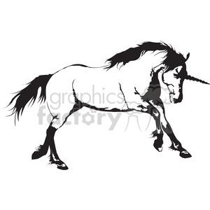 unicorn vector clipart. Royalty-free image # 398007