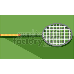 sports equipment badminton illustration clipart. Commercial use image # 398137