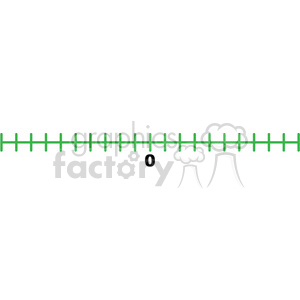 blank number line template clipart. Royalty-free image # 398197