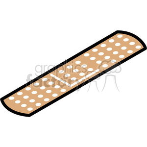 basic bandaid vector icon clipart. Royalty-free image # 398279