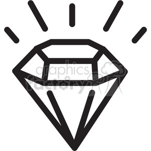 imperfect diamond icon clipart. Royalty-free icon # 398302