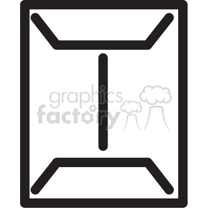 large envelope icon clipart. Commercial use image # 398332