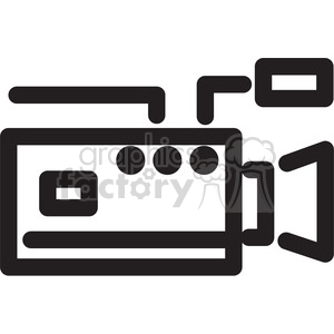 video camera icon clipart. Royalty-free image # 398352