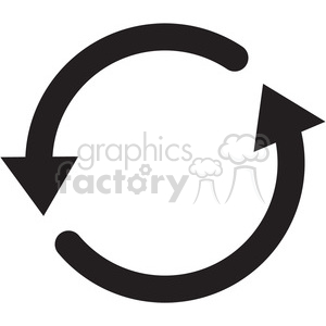 recycle refresh icon clipart. Royalty-free icon # 398382