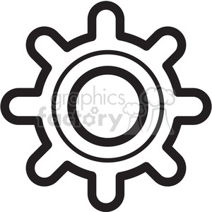 gear icon clipart. Royalty-free icon # 398412
