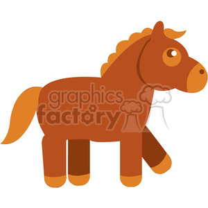 Horse vector image RF clip art clipart. Royalty-free image # 398439
