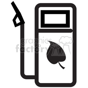 eco friendly fuel vector icon clipart. Royalty-free image # 398549