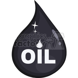 royalty free rf clipart illustration petroleum or oil drop icon flat design with text vector illustration isolated on white background clipart. Royalty-free image # 399578