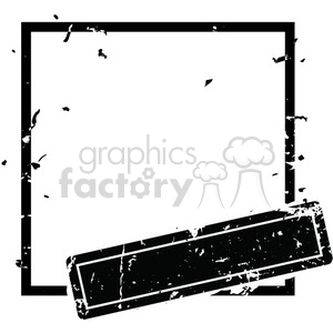 square grunge vintage old circle template vector art clipart. Royalty-free image # 400240