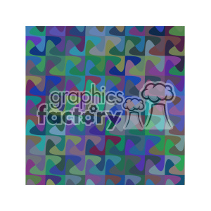 vector color pattern design 126 clipart. Royalty-free image # 401592