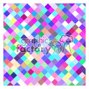 vector color pattern design 083 clipart. Royalty-free image # 401622