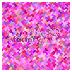 vector color pattern design 104 clipart. Royalty-free image # 401722