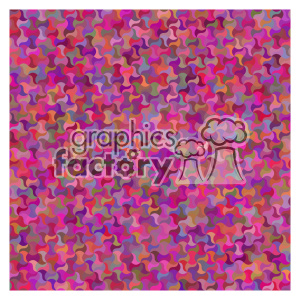 vector color pattern design 140 clipart. Royalty-free image # 401812
