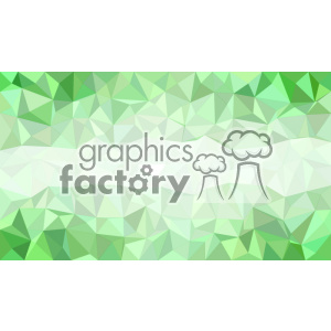 vector business card template shades of green polygon geometric middle text design clipart. Royalty-free image # 402007
