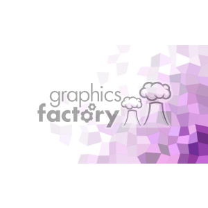 vector business card template shades of purple polygonal geometric corner text design clipart. Royalty-free image # 402012