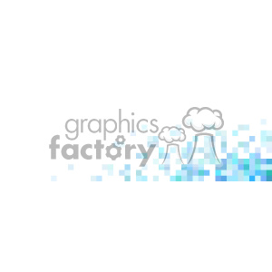 vector blue faded pixel quater background clipart. Royalty-free image # 402062