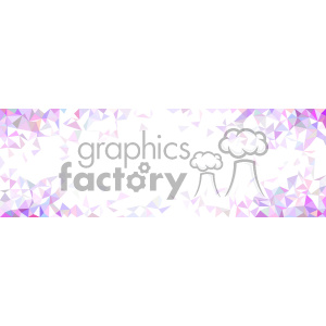vector pink faded geometric corner background clipart. Royalty-free image # 402072