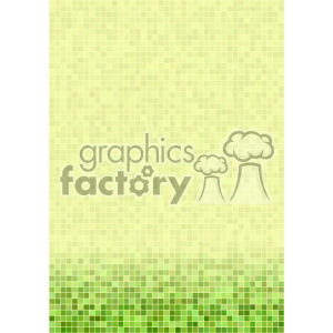 green ditigal pixel pattern vector bottom background template clipart. Royalty-free image # 402142
