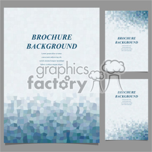 vector letter brochure template set 034 clipart. Royalty-free image # 402147